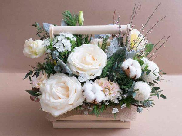 การเลือกกระเช้าดอกไม้ให้ตอบโจทย์การใช้งาน